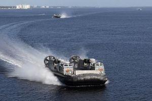Hải quân Mỹ nhận tàu đệm khí LCAC mới nhất