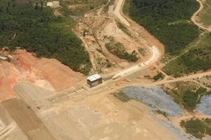 Dự án hồ chứa nước ngàn tỷ có vốn nhưng không thể thi công
