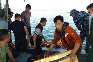 Cháy tàu vận tải dầu tại cảng Dung Quất