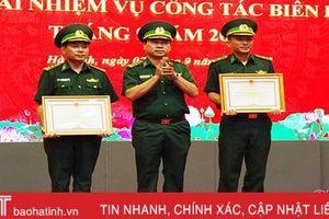 Khen thưởng 19 tập thể, cá nhân bộ đội biên phòng Hà Tĩnh