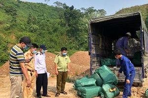 Lào Cai: Phát hiện, xử lý 720 kg nầm lợn và trứng gà non không giấy tờ hợp pháp
