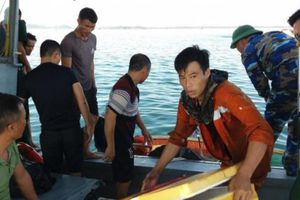 Tìm thấy thi thể thuyền viên mất tích trong vụ tàu chở dầu phát nổ
