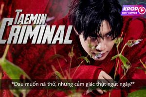 Criminal của Taemin xuất sắc là vậy, nhưng phần Vietsub khó đỡ lại khiến khán giả cảm thấy 'muốn ná thở' thật sự!