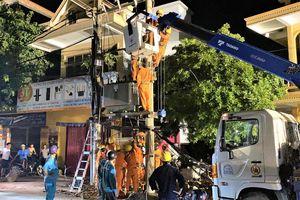 Ngành điện Quảng Bình: Kịp thời khắc phục sự cố, cấp điện trở lại cho hơn 1.000 khách hàng trong đêm