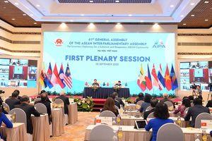 AIPA quyết tâm củng cố môi trường hòa bình, ổn định để xây dựng Cộng đồng ASEAN