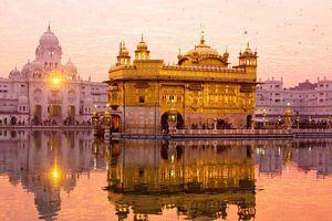 Ngôi đền mạ gần 100 kg vàng tại Ấn Độ