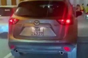 Phạt 4 triệu đồng tài xế ô tô đi sai làn trong hầm Kim Liên
