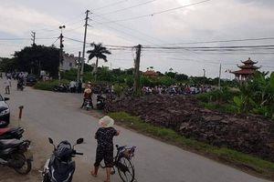 Phát hiện nguyên Trưởng ban Nội chính tỉnh Thái Bình tử vong ở nghĩa trang
