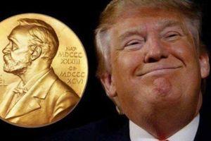 Ông Trump sẽ được Nobel Hòa Bình?