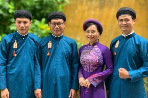 Nhà thiết kế Sĩ Hoàng: 'Chê nam công chức mặc áo dài là kém hiểu biết'