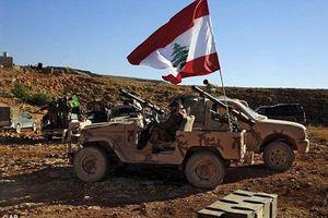 Quân đội Lebanon hạ UAV của Israel dọc biên giới phía nam