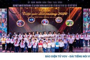Thaco hỗ trợ học sinh tại Thái Bình, Gia Lai