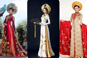 Thông tin ít biết về NTK áo dài cho người đẹp thi quốc tế