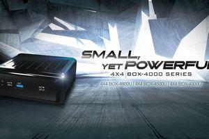 PC mini: AMD Ryzen 4000 U, card đồ họa Radeon Vega 7 'đấu' với iMac