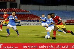Thua Than Quảng Ninh với tỷ số 2-3, Hồng Lĩnh Hà Tĩnh dừng chân ở tứ kết Cup Quốc gia