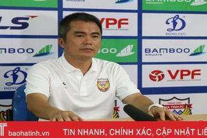 HLV Phạm Minh Đức: Trận thua trước Than Quảng Ninh là bài học kinh nghiệm đối với học trò cho V.League