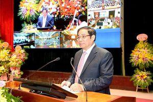 Đồng chí Phạm Minh Chính dự Lễ khai giảng Học viện Chính trị Quốc gia Hồ Chí Minh