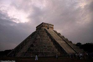 Bí ẩn bên trong kim tự tháp Kukulkan của người Maya
