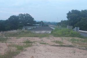 Dự án Cầu 110 đầu tư hàng tỷ đồng thi công xong... bỏ hoang