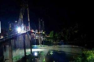 Chìm ghe chở gạo ở Tiền Giang, thiệt hại gần 600 triệu đồng