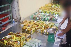 Biên phòng bắt 12 đối tượng, thu hơn 200kg ma túy