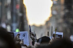 Biểu tình ở Thổ Nhĩ Kỳ phản đối tòa soạn báo Charlie Hebdo