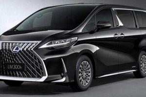 Xe 'ông chủ' Lexus LM bán tại Trung Quốc giá từ 5,1 tỷ đồng