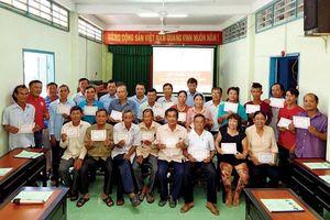 30 học viên tham gia lớp huấn luyện sơ cấp cứu
