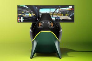 Hệ thống giả lập đua xe giá 73.858 USD của Aston Martin