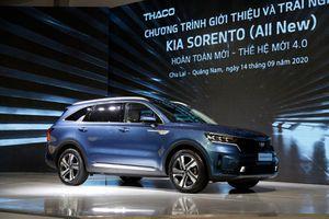 Bất ngờ về giá lăn bánh Kia Sorento 2021 tại Việt Nam