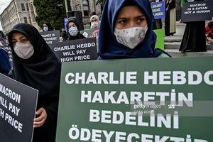 Thổ Nhĩ Kỳ: Biểu tình phản đối tòa soạn Charlie Hebdo