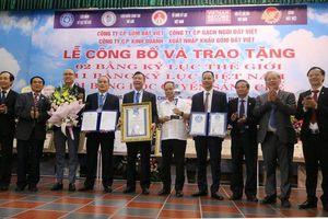 Đất sét nung Việt Nam đạt kỷ lục thế giới