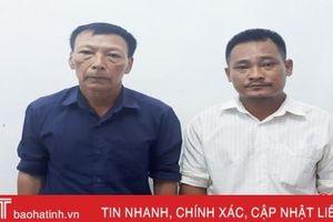 Khởi tố 2 cha con chặt hạ hàng trăm cây keo tràm của người cùng xóm ở Hương Khê