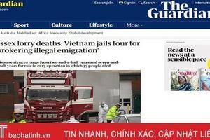 Truyền thông thế giới quan tâm phiên tòa xét xử 7 bị cáo liên quan vụ 39 nạn nhân tử vong trong container ở Anh mở tại Hà Tĩnh