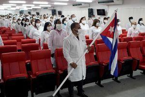 Nhiều quốc gia cảm kích 'đội quân áo trắng' của Cuba