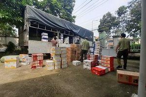 Bình Dương: Phát hiện trên 45.000 chiếc bánh bông lan các loại nghi vấn nhập lậu