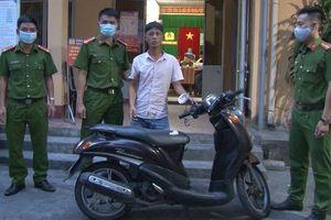 Khởi tố đối tượng trộm xe máy có 3 tiền án