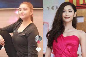 Nữ diễn viên Lý Tâm Ngải tăng 20 kg