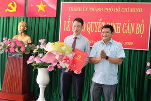 Đồng chí Trương Trung Kiên làm Phó Bí thư Quận ủy quận Thủ Đức