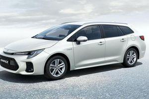 Suzuki Swace 2021 'mượn' phong cách Toyota Corolla Touring Sports?