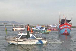 BĐBP các tỉnh: Đà Nẵng, Quảng Nam, Quảng Ngãi kêu gọi tàu thuyền phòng tránh bão số 5