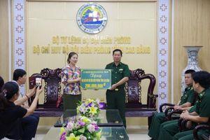 Lãnh đạo Ủy ban Trung ương MTTQ Việt Nam thăm, tặng quà BĐBP Cao Bằng