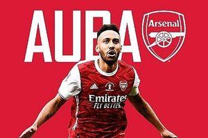 Arsenal chính thức 'giữ chân' Aubameyang bằng hợp đồng 'khủng'