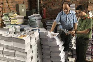 Thu giữ số lượng lớn xuất bản phẩm không rõ nguồn gốc, xuất xứ