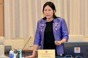 Bà Lê Thị Nga: Đường bộ bị tai nạn nhiều nên phải tách luật là chưa thuyết phục