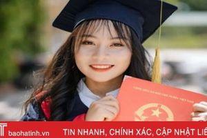 3 năm THPT học sinh giỏi tỉnh, nữ sinh miền núi Hà Tĩnh tự tin vào Đại học Luật sau phúc khảo tăng 22,5 điểm