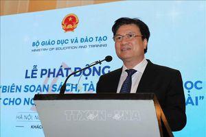 Phát động cuộc thi 'Biên soạn sách, tài liệu dạy và học tiếng Việt cho người Việt Nam ở nước ngoài'