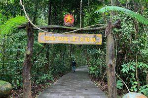 Về thăm căn cứ Trung ương Cục miền Nam tại rừng Mã Đà
