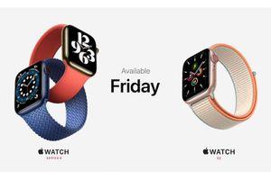 Apple trình làng Apple Watch Series 6, bổ sung thêm 2 màu mới, giá từ 399 USD
