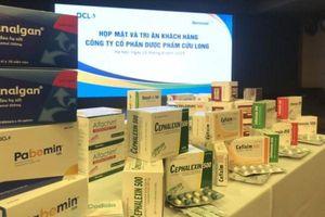 Dược phẩm Cửu Long tuyên bố giải thể công ty con